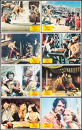 """Movie Posters:Fantasy, Sinbad and the Eye of the Tiger (Columbia, 1977). Very Fine/Near Mint. Lobby Card Set of 8 (11"""" X 14""""). Fantasy.. ... (Total: 8 Items)"""