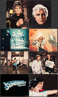 """Movie Posters:Action, Superman the Movie (Warner Bros., 1978). Fine/Very Fine. Deluxe Lobby Card Set of 8 (11"""" X 14""""). Action.. ... (Tota..."""