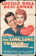 """Movie Posters:Comedy, The Long, Long Trailer (MGM, 1954). Folded, Very Good. One Sheet (27"""" X 41""""). Comedy.. ..."""