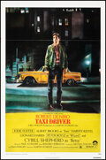 """Movie Posters:Crime, Taxi Driver (Columbia, 1976). Folded, Fine/Very Fine. One Sheet (27"""" X 41"""") Guy Pellaert Artwork. Crime.. ..."""