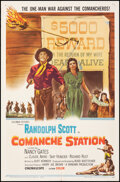 """Movie Posters:Western, Comanche Station & Other Lot (Columbia, 1960). Folded, Very Fine-. One Sheets (2) (27"""" X 41""""). Western.. ... (Total: 2 Items)"""