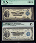 Fr. 713* $1 1918 Federal Reserve Bank Star Note PCGS Very Fine 20PPQ; Fr. 714* $1 1918 Federal Reserve Bank Star Note PM...