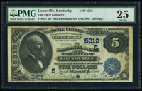 Louisville, KY - $5 1882 Date Back Fr. 537 The National Bank of Kentucky Ch. # (S)5312 PMG Very Fine 25