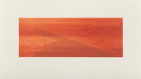 Ed Ruscha (b. 1937) Road Master, 2003 Lithograph in colors on Rives BFK paper 6-1/2 x 17 inches (16.5 x 43.2 cm) (ima