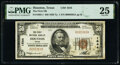 Houston, TX - $50 1929 Ty. 1 The First National Bank Ch. # 1644 PMG Very Fine 25