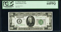 Fr. 2050-D $20 1928 Federal Reserve Note. PCGS Very Choice New 64PPQ