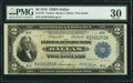 Fr. 776 $2 1918 Federal Reserve Bank Note PMG Very Fine 30