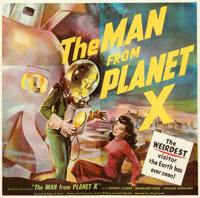 """The Man from Planet X (United Artists, 1951). Folded, Very Fine+. Six Sheet (79"""" X 80"""")"""