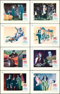 """Movie Posters:Horror, Munster, Go Home (Universal, 1966). Very Fine+. Lobby Card Set of 8 (11"""" X 14"""").... (Total: 8 Items)"""