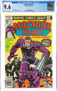 Machine Man #1 (Marvel, 1978) CGC NM+ 9.6 Off-white to white pages