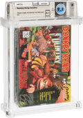 Video Games:Nintendo, Donkey Kong Country - Wata 9.8 A++ Sealed [Made in Japan, First Production], SNES Nintendo 1994 USA....