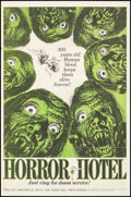 """Movie Posters:Horror, Horror Hotel & Other Lot (Trans Lux, 1962). Folded, Fine+. One Sheets (2) (27"""" X 41"""") Jack Davis Artwork. Horror.. ... (Total: 2 Items)"""