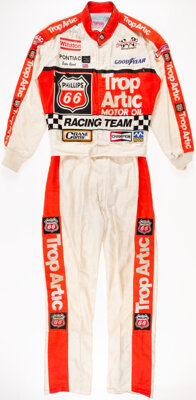 1991 Lake Speed Race Worn & Signed NASCAR Winston Cup Series Fire Suit