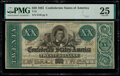 Confederate Notes:1861 Issues, T21 $20 1861 PF-3 Cr. 145 PMG Very Fine 25. Te...