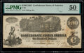 Confederate Notes:1862 Issues, T39 $100 1862 PF-5 Cr. 290 PMG About Uncirculated 50.