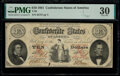 Confederate Notes:1861 Issues, T26 $10 1861 PF-20 Cr. 193 PMG Very Fine 30. P...