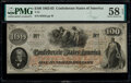Confederate Notes:1862 Issues, T41 $100 1862 PF-12 Cr. 317A PMG Choice About Unc 58 EPQ.