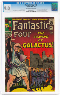 Fantastic Four #48 (Marvel, 1966) CGC VF/NM 9.0 Off-white to white pages