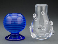 Two Kosta Boda Glass Articles, late 20th century Marks: Kosta Boda, (various) 5-1/4 x 3-1/4 inches (... (Total: 2)