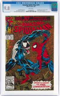The Amazing Spider-Man #375 (Marvel, 1993) CGC NM/MT 9.8 White pages