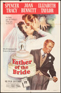 """Movie Posters:Comedy, Father of the Bride & Other Lot (MGM, 1950). Folded, Fine. One Sheets (2) (27"""" X 41""""). Comedy.. ... (Total: 2 Items..."""