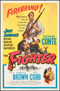 """The Fighter & Other Lot (United Artists, 1952). Folded, Fine/Very Fine. One Sheets (2) (27"""" X 41""""). Sports..."""