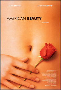 """American Beauty (DreamWorks, 1999). Rolled, Very Fine. One Sheet (27"""" X 40"""") DS. Drama"""