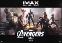 """The Avengers (Paramount, 2012). Rolled, Very Fine+. IMAX Poster (13.5"""" X 19.75""""). SS, Advance. Science Fiction..."""