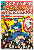 Silver Age (1956-1969):Superhero, Sgt. Fury and His Howling Commandos #13 (Marvel, 1964) Condition: VG/FN....