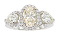 Estate Jewelry:Rings, Assil Diamond, White Gold Ring. ...