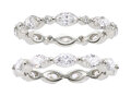 Estate Jewelry:Rings, Diamond, White Gold Eternity Bands. ...