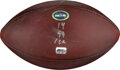 Football Collectibles:Balls, 2020 Russell Wilson Seattle Seahawks Game Used Football - ...