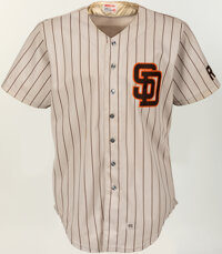 1985 Lance McCullers Game Worn San Diego Padres Jersey