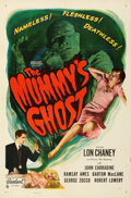 Movie Posters:Horror, The Mummy's Ghost (Realart, 1951). Folded, Very Fine-....