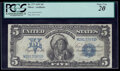 Large Size:Silver Certificates, Fr. 277 $5 1899 Silver Certificate PCGS Very Fine 20.. ...