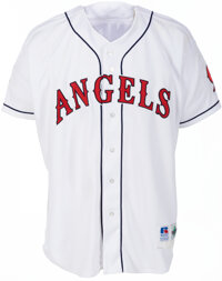 1995 Lee Smith All-Star Game Worn California Angels Jersey with MLB Provenance