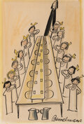 Works on Paper, Ludwig Bemelmans (American, 1898-1962) And B...