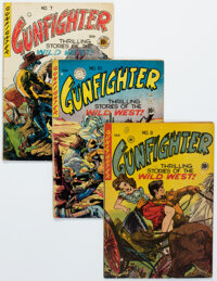 Gunfighter #7-10 Canadian Editions Group (EC, 1949).... (Total: 4 Comic Books)