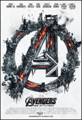 """Movie Posters:Action, The Avengers: Age of Ultron (Walt Disney Studios, 2015). Rolled, Very Fine/Near Mint. IMAX Mini Poster (13"""" X 19"""") SS, Advan..."""