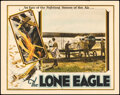 """Movie Posters:War, The Lone Eagle (Universal, 1927). Fine+. Lobby Card (11"""" X 14""""). War.. ..."""