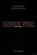 """Movie Posters:Science Fiction, Rogue One: A Star Wars Story (Walt Disney Studios, 2016). Rolled, Very Fine. One Sheet (27"""" X 40"""") DS Teaser. Science Fictio..."""