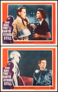 """Movie Posters:Science Fiction, The Day the Earth Stood Still (20th Century Fox, 1951). Very Fine+. Lobby Cards (2) (11"""" X 14""""). Science Fiction.. ... (Total: 2 Items)"""