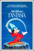 """Movie Posters:Animation, Fantasia & Other Lot (Buena Vista, R-1982). Folded, Very Fine. One Sheets (2) (27"""" X 41"""") SS, DS. Animation.. ... (Total: 2 Items)"""