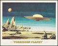 """Movie Posters:Science Fiction, Forbidden Planet (MGM, 1956). Fine/Very Fine. Lobby Card (11"""" X 14""""). Science Fiction.. ..."""