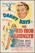 """Movie Posters:Comedy, The Kid from Brooklyn (RKO, 1946). Folded, Very Fine+. One Sheet (27"""" X 41""""). Comedy.. ..."""
