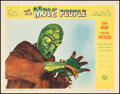 """Movie Posters:Science Fiction, The Mole People (Universal International, 1956). Very Fine+. Lobby Card (11"""" X 14""""). Science Fiction.. ..."""