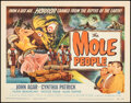 """Movie Posters:Science Fiction, The Mole People (Universal International, 1956). Near Mint/Mint. Title Lobby Card (11"""" X 14"""") Reynold Brown Artwork. Science..."""