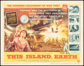 """Movie Posters:Science Fiction, This Island Earth (Universal International, 1955). Very Fine/Near Mint. Title Lobby Card (11"""" X 14""""). Science Fiction..."""