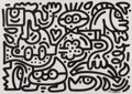 Works on Paper, Mr. Doodle (b. 1994). Banana Bash, early 21st century. Ink on paper. 16-1/2 x 23-1/2 inches (41.9 x ...