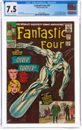 Silver Age (1956-1969):Superhero, Fantastic Four #50 (Marvel, 1966) CGC VF- 7.5 Off-white to white pages....